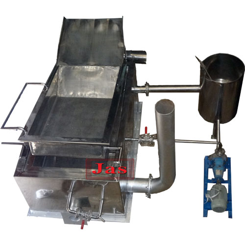 Batch type frying machine