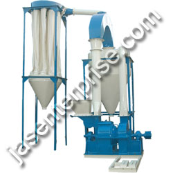 Screen Less Turmeric Grinding machine