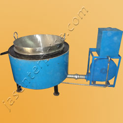 Economic portable kerosene or diesel bhatti (furnace)