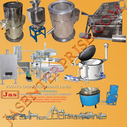 Potato chips production lines